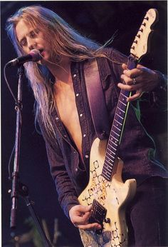 Jerry Cantrell, co-lead singer, guitarist and main song writer for Alice in Chains.