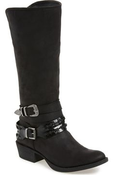 COCONUTS BY MATISSE 'Pecos' Double Belted Boot (Women) available at #Nordstrom