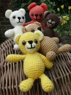 Crochet Teddy Fun