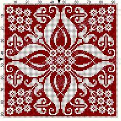 ru / Фото - Le Filet Ancien au Point de Reprise V - gabbach - Funny Cross Stitch Patterns, Cross Stitch Borders, Cross Stitch Flowers, Cross Stitch Designs, Cross Stitching, Cross Stitch Embroidery, Embroidery Patterns, Cross Stitch Pillow, Tapestry Crochet