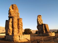 Colossi of Memnon The local people of Egypt called it as el-Colossat or es-Salamat. Colossi of Memnon are a huge structure of Pharaoh Amenhotep III who ruled the Dynasty XVIII. The structure is now situated in the modern city of Luxor.