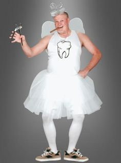 Tooth fairy costume men at xn--kostmpalast-w.- Zahnfee Kostüm Männer bei xn--kostmpalast-w. Tooth fairy costume men at xn--kostmpalast-w. Diy Carnival, Carnival Costumes, Cool Costumes, Costume Halloween, Halloween Fun, Tooth Fairy Costumes, Karneval Diy, Fancy Dress, Dress Up