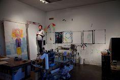 Freunde von Freunden — Sage Vaughn — Artist, Studio, Pasadena, Los Angeles — http://www.freundevonfreunden.com/interviews/sage-vaughn/