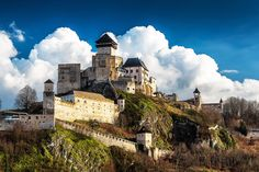Castle Trencin Slovakia *Trencin Castle – Even though Slovakia is a small country, it has a lot of beautiful and well preserved castles.  Trencin castle is an example of one.