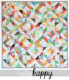 Hello Happy pattern photo2