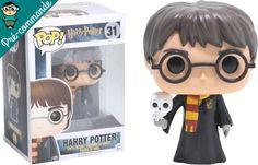 Préco - Harry Potter Funko Pop Harry with Hedwig - Funko POP!/Pop! Harry Potter - Little Geek