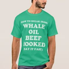 How to Speak Irish Funny St Patricks Day Tshirt