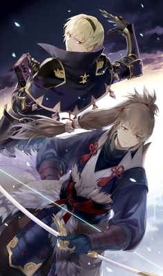 Fire Emblem: If/Fates - Leon and Takumi