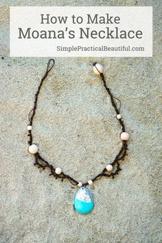10 cheap beachy hemp bracelet patterns for festival season hemp how to make moanas necklace with hemp tutorial and how to make a charm that fandeluxe Images