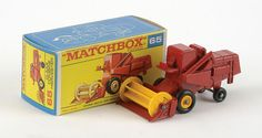 Matchbox Superfast No.65 Claas Combine Harvester