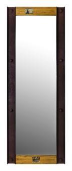 Espejo de madera de la línea Camden de Nomad Muebles México.