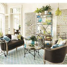 Mirror with O'verlays Grace mini's.  IKEA Vittsjo shelf painted. Maybe add O'verlay corners??
