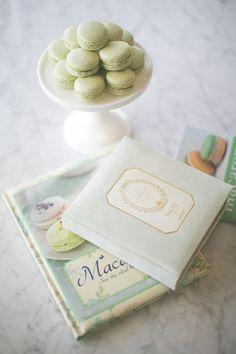 Homemade Pistachio Macarons #recipe