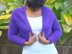 20 Simple Crochet Shrug Design | DIY to Make