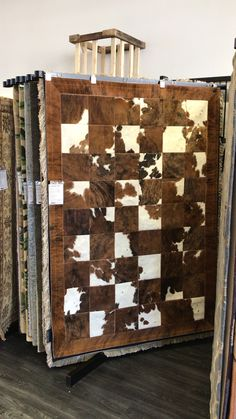 Patchwork Rugs, Patchwork Patterns, Patchwork Designs, Leather Rugs, Brown Rugs, Tan Rug, Photo Pattern, Cowhide Rugs, Rug Texture