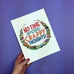 We have no time for crappy thought...coz it's FRIDAY! Art prints available from http://ift.tt/1ihQVKN with FREE uk shipping!