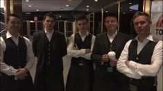 """Celtic Thunder waiting to appear on """"The Today Show"""" 3/16/18"""