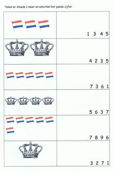 . Kings Day, Holland, Pre School, Playing Cards, Letters, Projects, The Nederlands, Playing Card Games, The Netherlands