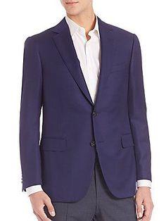 Pal Zileri Slim-Fit Wool Blazer