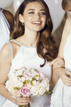 FOR THE BRIDE: Ted's CERIAN bridal gown will add a touch of sparkle to your wedding day look. #WedWithTed