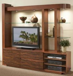 Design Living Room Cabinet - A living room is the initial room your guest will see. It is the entry point of your home. Tv Unit Design, Tv Cabinet Design, Tv Wall Design, Media Cabinet, Media Design, Door Design, China Cabinet, Living Room Tv Unit, Design Living Room