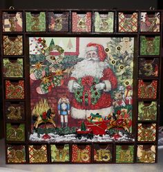 Advent Calendar for Grandsons - Scrapbook.com