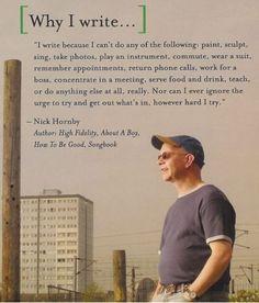 Why I Write.