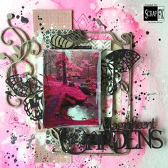 Jardins Magnifiquespour Scrap Fx Scrapbook Layouts, Ted, Gift Wrapping, Tote Bag, Gifts, Garden, Fighting Cancer, Gift Wrapping Paper, Presents