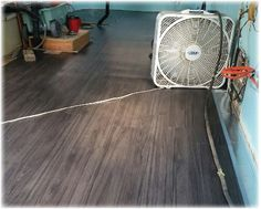 Getting the floor installed in your trailer goes a long way towards making you feel something is being accomplished.