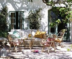 kathryn ireland | Gorgeous sunny outdoor inspiration for Friday...sitting looking out ...