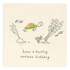 Calligraphy Birthday Card, Watercolor Birthday Cards, Birthday Card Drawing, Birthday Card Design, Homemade Birthday Cards, Birthday Cards For Mum, Homemade Cards, Birthday Card Boyfriend, Birthday Puns