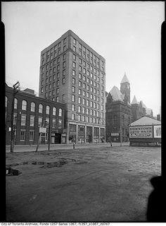 City Hall Annex, Toronto, Ontario, c. 1940. #vintage #Canada #1940s