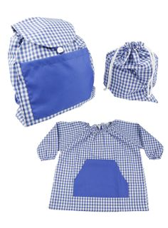 Pack guardería azul marino