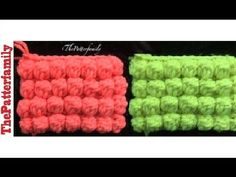 How To Crochet a Bobble Stitch│by ThePatterfamily