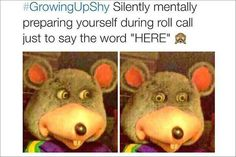 """I think """"Growing Up Shy"""" could be replaced with """"Growing up as an Introvert."""" Growing Up Shy – 21 Pics"""