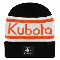 Mens Striped Knit Toque Landscaping Equipment, Lawn Equipment, Snow Removal Equipment, Work Site, Kubota, Striped Knit, Hats, Clothing, Outfits Fo