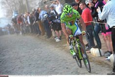 Peter Sagan (Cannondale) goes up the road in E3 Harelbeke Photo credit © Tim de Waele/TDW Sport