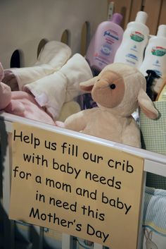 Help babies in need.  Help the homeless. Help a senior.  Help a child. Offer help to those who need help.