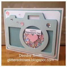 @sunshinedreams created this beautiful card using @CTMH product, such a fun #shakercard