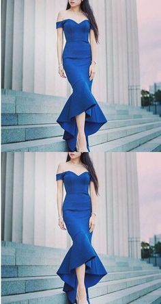 Unique Prom Dresses, Royal Blue Off Shoulder Mermaid Prom Dress, Sexy Formal Evening Dress, Women Dress, There are long prom gowns and knee-length 2020 prom dresses in this collection that create an elegant and glamorous look Royal Blue Prom Dresses, Prom Dresses 2018, Long Prom Gowns, Mermaid Prom Dresses, Bridesmaid Dresses, Short Prom, Party Dresses, Women's Evening Dresses, Popular Dresses