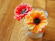 Make Crystal Flowers  (spring alternative to making snowflakes with chenille stems)