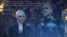 When he came to me in the bar, among all his dark thoughts, I glimpsed one bright spot. One beautiful thing he held onto, even at the end. - Star Wars The Force Unleashed. Juno Eclipse