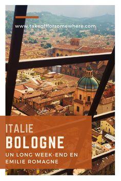 C'est parti pour un week-end en Italie, à Bologne et ses alentours. La région d'Emilie-Romagne est réputée pour sa gastronomie ! Profitez-en également pour un petit arrêt dans les jolies villes de Parme et Modène. #bologne #bologna #parme #modene #parma #modena #emilieromagne #italie #italy #italia #visititaly Destinations D'europe, Weekend France, Long Week-end, Voyage Europe, Blog Voyage, Travel Deals, Airplane View, The Good Place, Cool Pictures