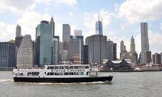Manhattan Skyline and Statue Cruise.  Diane Greene Lent