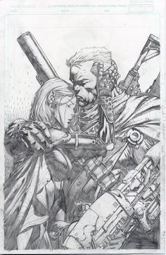 Cable and Hope Comic Book Pages, Comic Page, Comic Book Artists, Comic Artist, Comic Books Art, Hope Summers, David Finch, War Novels, Greg Capullo