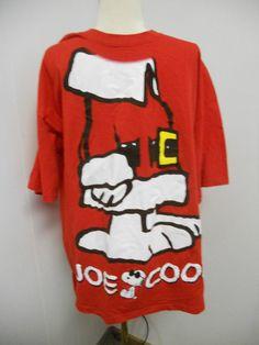Peanuts Snoopy JOE COOL Santa Suit Mens T by PfantasticPfindsToo, $14.99