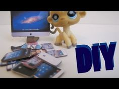 DIY Electronics: How To Make LPS iPhones, Game Controls, And Computers. i've tried this, it really does work. plus, i know that a pretty famous person, Sophieg uses this method for iphones. if you dont know who sophie is she makes SUPER awesom lps videos and shows. just go to youtube and type in Sophiegtv