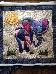 Love the quilting on this piece.