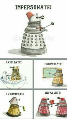 Doctor who!!!!! Daleks :)