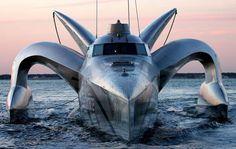 Earthrace ecoboot: snel